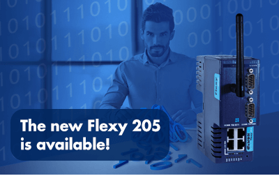 eWON Flexy 205 – The IIoT Gateway for Machine Builders