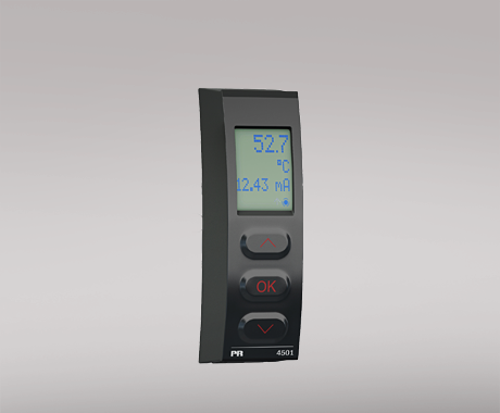 4501 Display / programming front