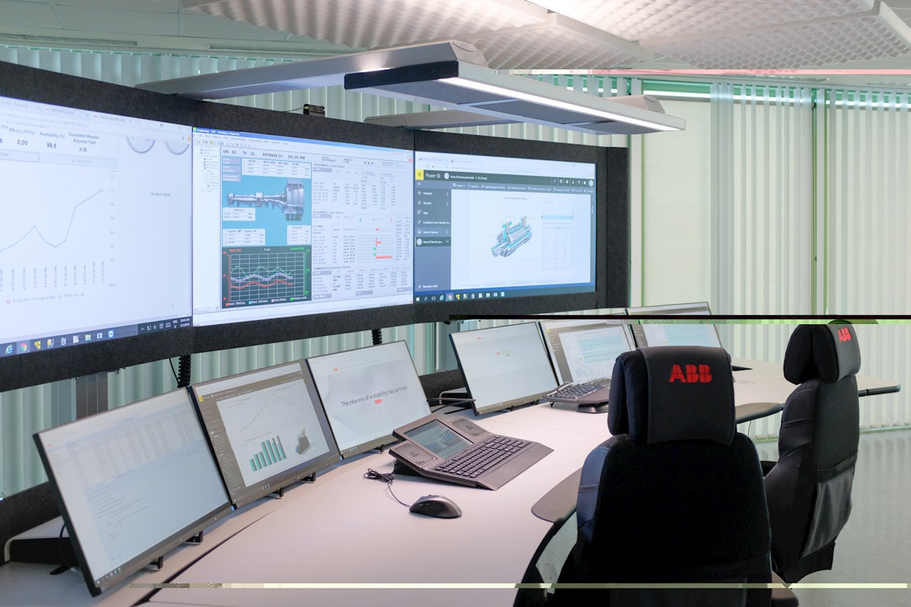 A command center