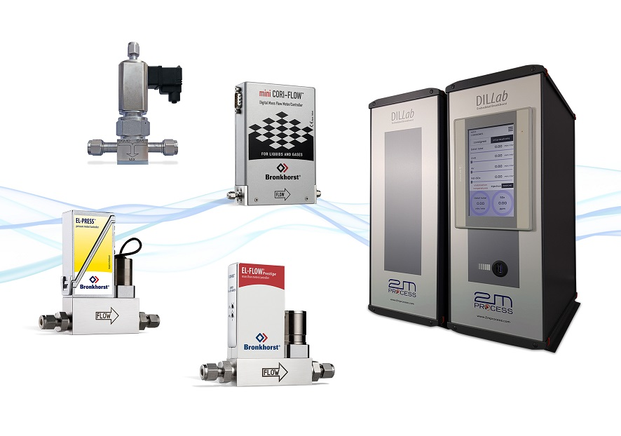 Bronkhorst Selection of flow meters