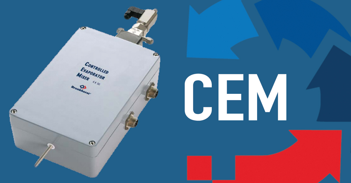 What is a Controlled Evaporation Mixer (CEM)?
