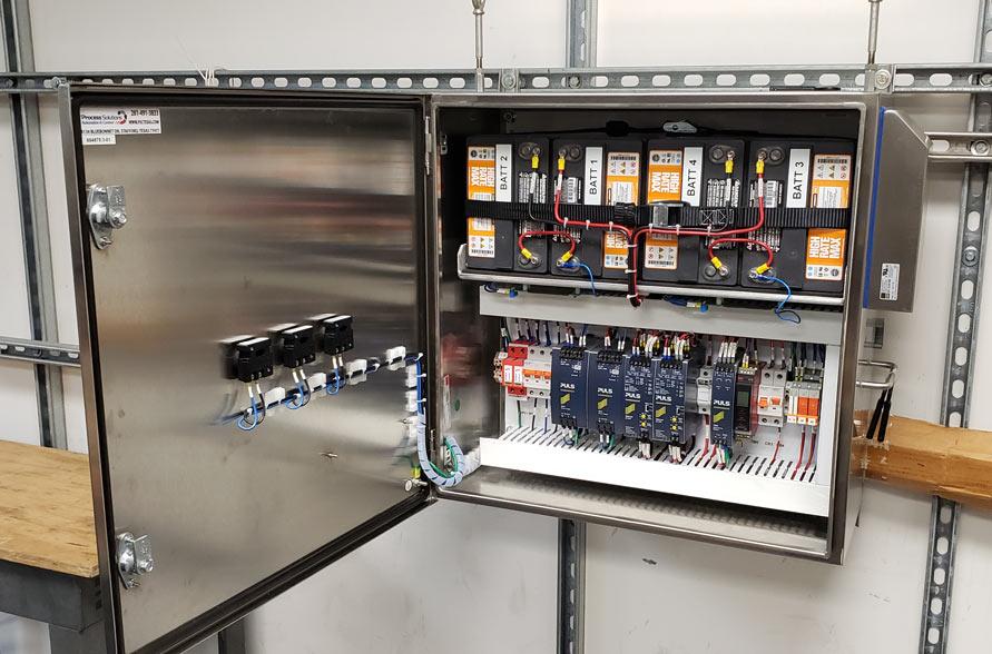Industrial 24 Volt Power Backup Solution