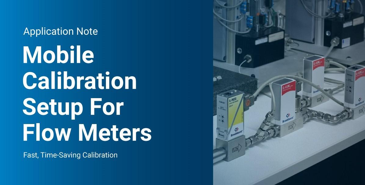 Mobile Calibration Setup For Flow Meters