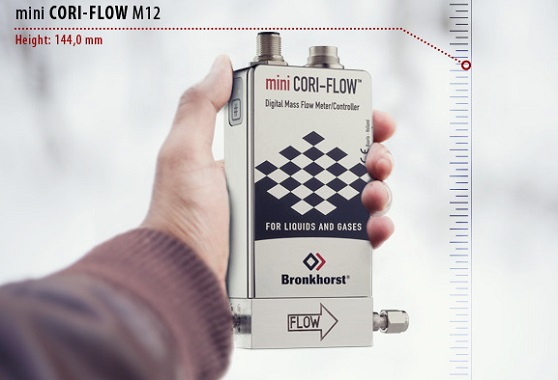 Why is the Bronkhorst Coriolis Flow Meter Called 'Mini'?